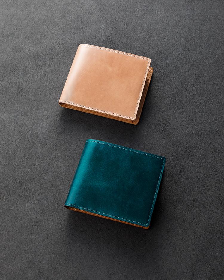 【限定色】コードバン 二折財布